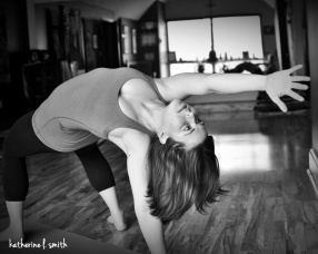 Poses by Erica Traster Yoga